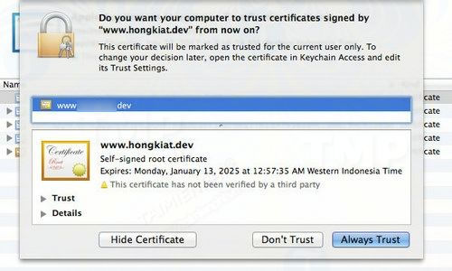 how to enable ssl for localhost with mamp 5