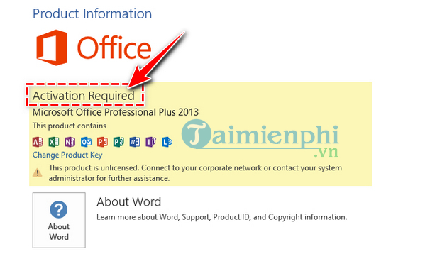 how to check microsoft office 2013 was duly authorized or not 4