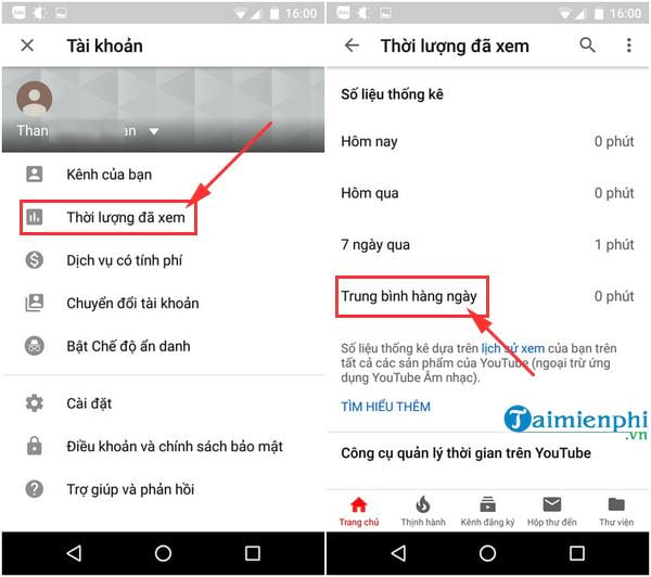 how to check and hen watch youtube 3