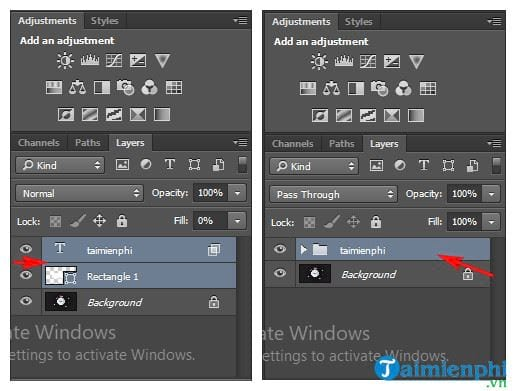 How to clean in Photoshop 7