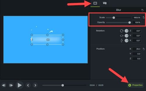 how to make a lie in video with camtasia 7