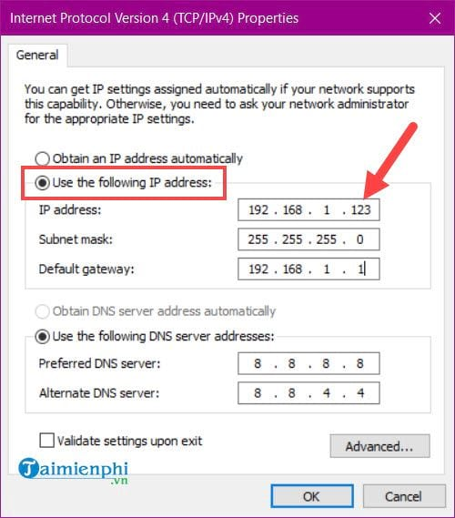 how to create an ip address on your windows 10 8 7 5 computer