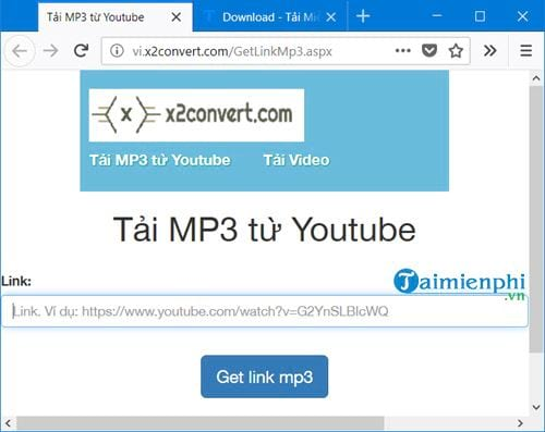 how to link mp3 from youtube 2