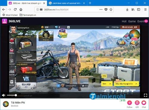 how to live stream rules of survival mobile on phone 8