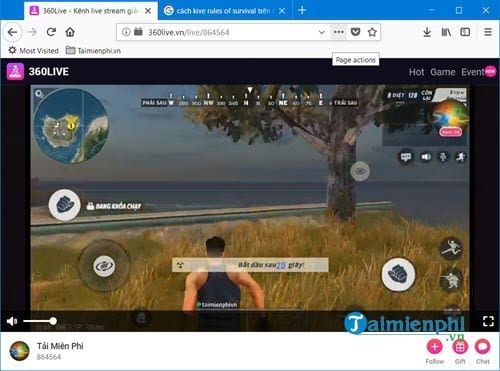 how to live stream rules of survival mobile on phone 9