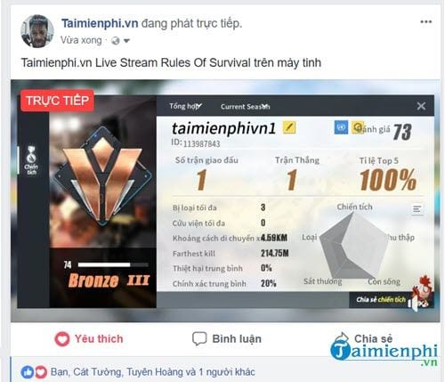 how to live stream rules of survival on PC 16