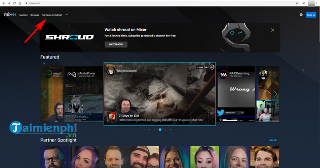 how to live streaming on mixer 2