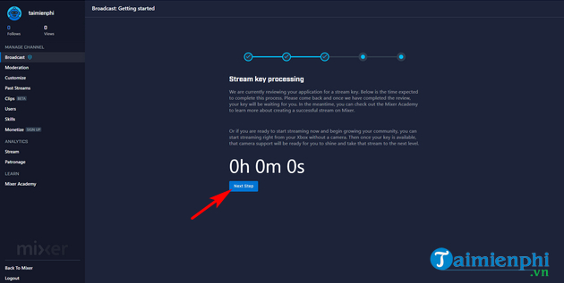 how to live streaming on mixer 10