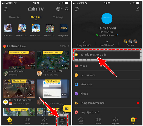 how to livestream cubetv game on PC 3