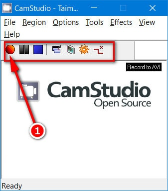 how to save video file on camstudio