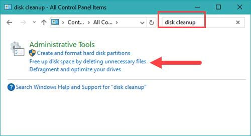 how to clean the computer disk cleanup 9