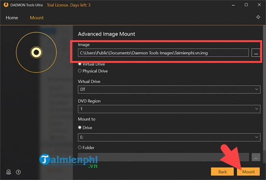 How to create img files in lossless music files 9