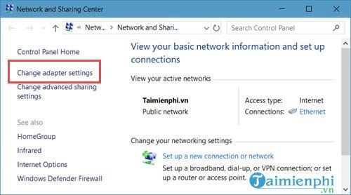 how to connect networks on Windows 10 5
