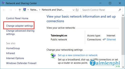 how to connect networks on Windows 10 9