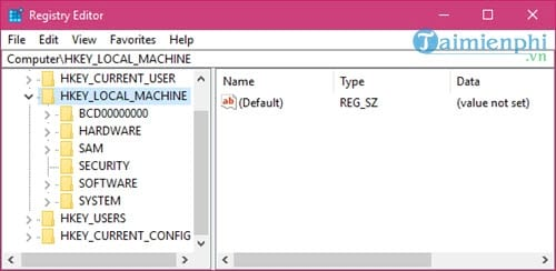 how many registry entries are available on the computer 3