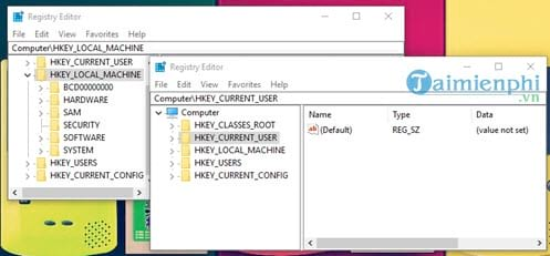 how many registry entries are available on the computer 6
