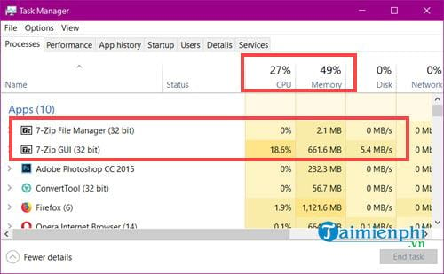How to use the smallest file size in 7 zip 11