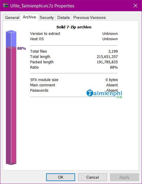 How to use the smallest file size in 7 zip 12