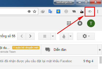 How to follow emails on google chrome 4