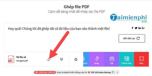 How to say the pdf file does not need to be written on mem 7