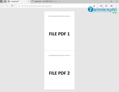 How to say the pdf file does not need the mem 9