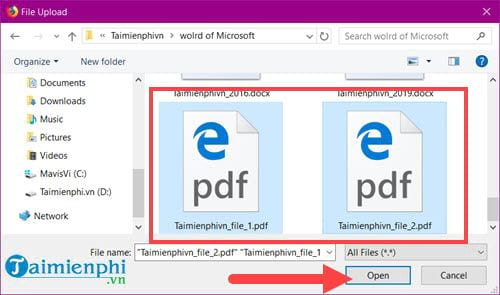 how to say pdf from multiple files 1 file 11
