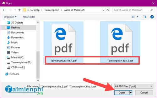 how to say pdf from multiple files 1 file 3