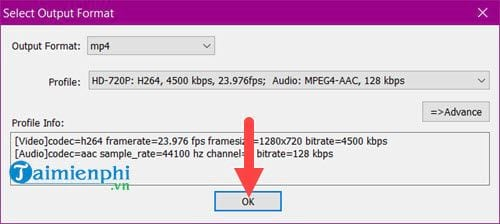 how to say video file 1 audio file 7