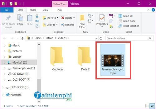 how to say video file 1 audio file 10