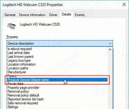 how to view the content using the webcam 5