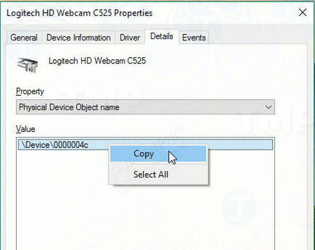 How to view the content using the webcam 6