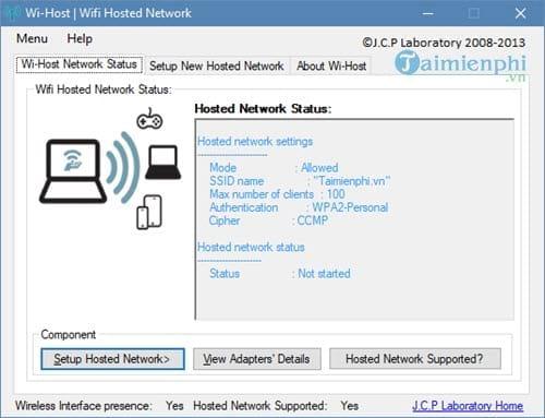 how to enable wifi on your computer with wi host 10