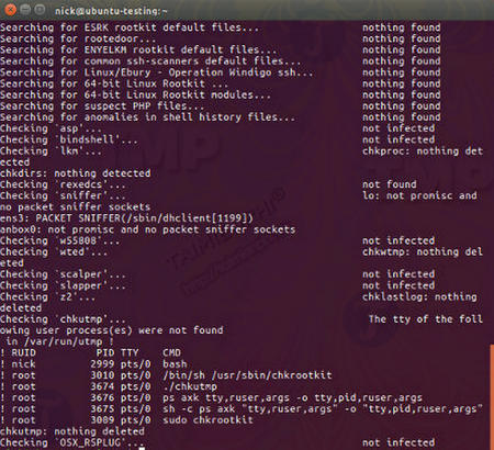 how to remove virus and rootkit on linux 5