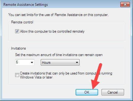 how to remote desktop in windows 7 to set up connection 9