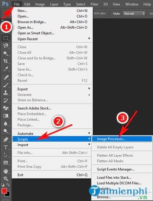 how to resize multiple files with photoshop 2