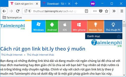 How to remove the link state bit ly and ow ly 6