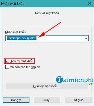 how to show password clean file using winrar 5