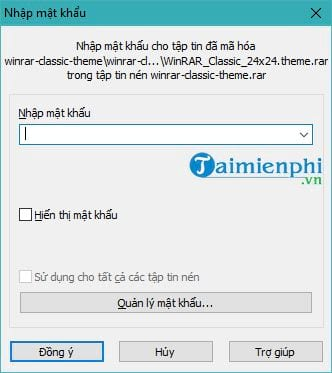 how to show password clean file using winrar 7