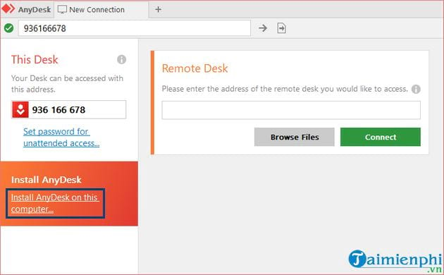 how to use anydesk to remote remote control