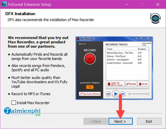 using dfx audio enhancer on windows 10 3