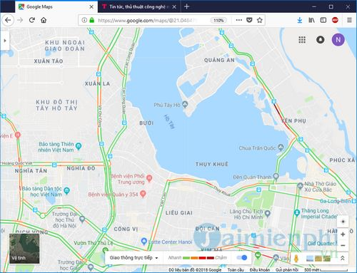 how to use google traffic to view traffic routes 6