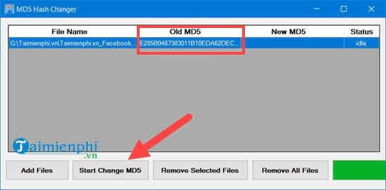 how to use md5 hash changer tool to change md5 video file 6