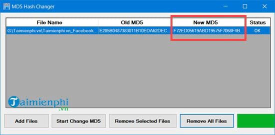 how to use md5 hash changer tool to change md5 video file 8