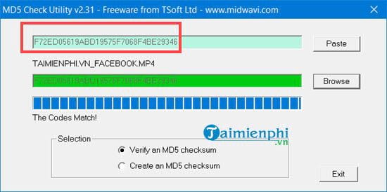 How to use md5 hash changer tool to change md5 video file 10