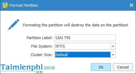 using the minitool partition wizard 3