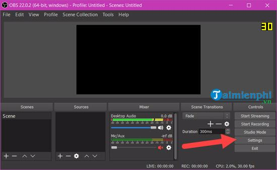 How to use OBS Studio to stream Facebook 4