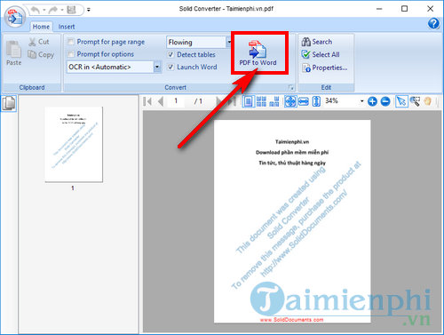 How to use pdf to word converter 3