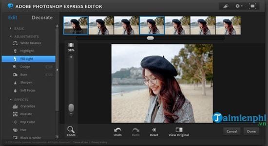 how to use photoshop online in beautiful photos