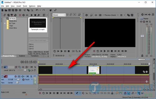 how to use sony vegas pro 3