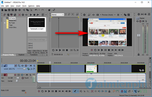how to use sony vegas pro 8